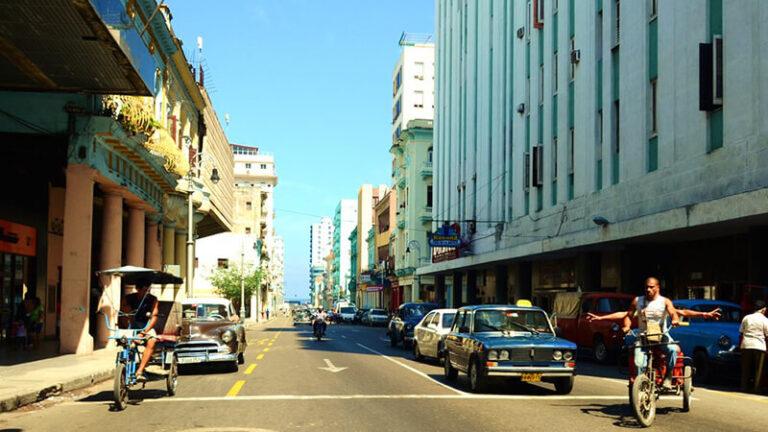 Calle Galiano. Habana por dentro(Dazra Novak)