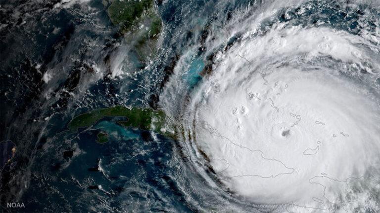 Huracán Irma. Cuba, 2017. NOAA