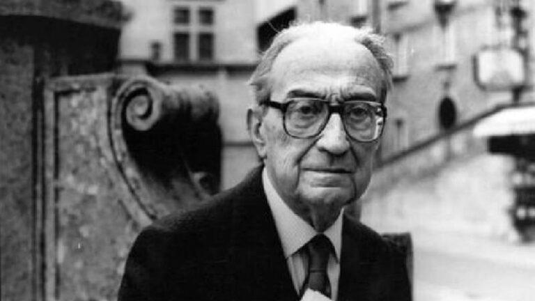 Giulio Carlo Argan. Pensador en materia de Arte.